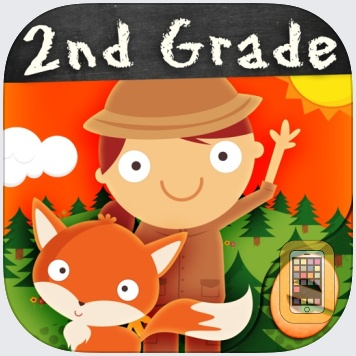 Animal Second Grade Math Games by Eggroll Games LLC (Universal)