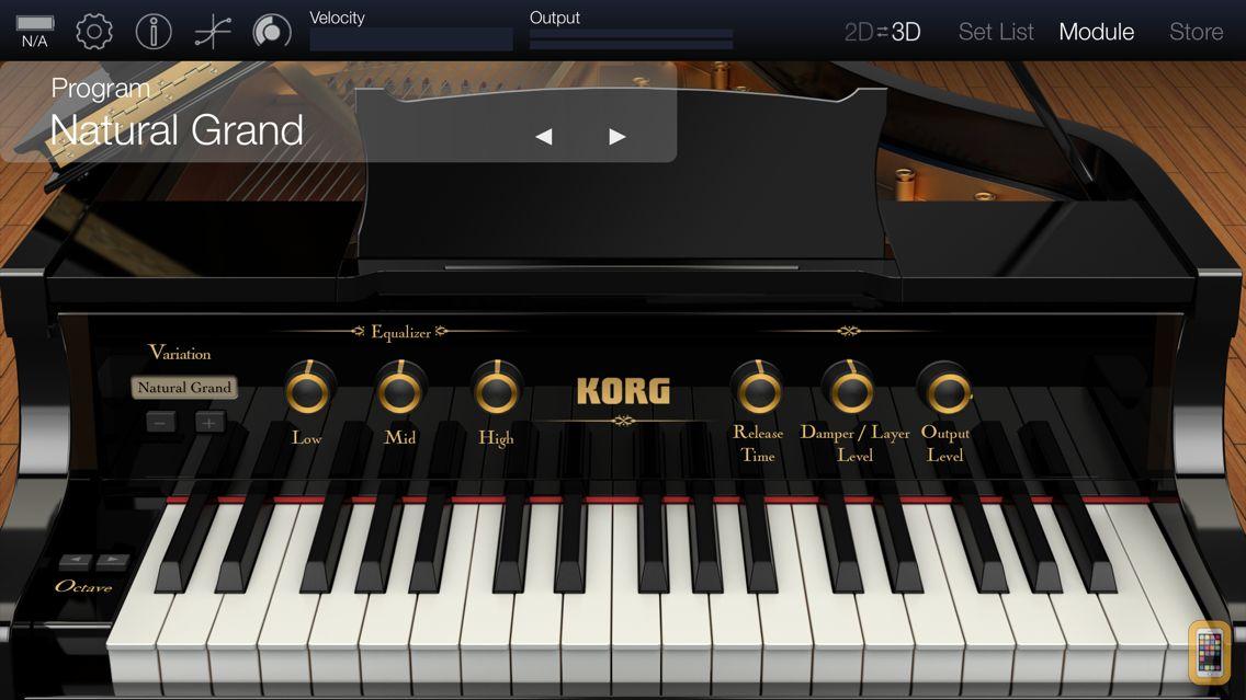 Screenshot - KORG Module Pro