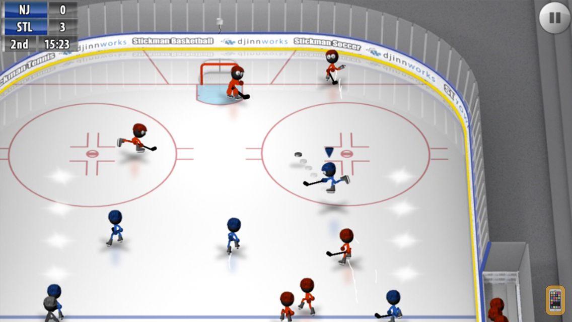 Screenshot - Stickman Ice Hockey