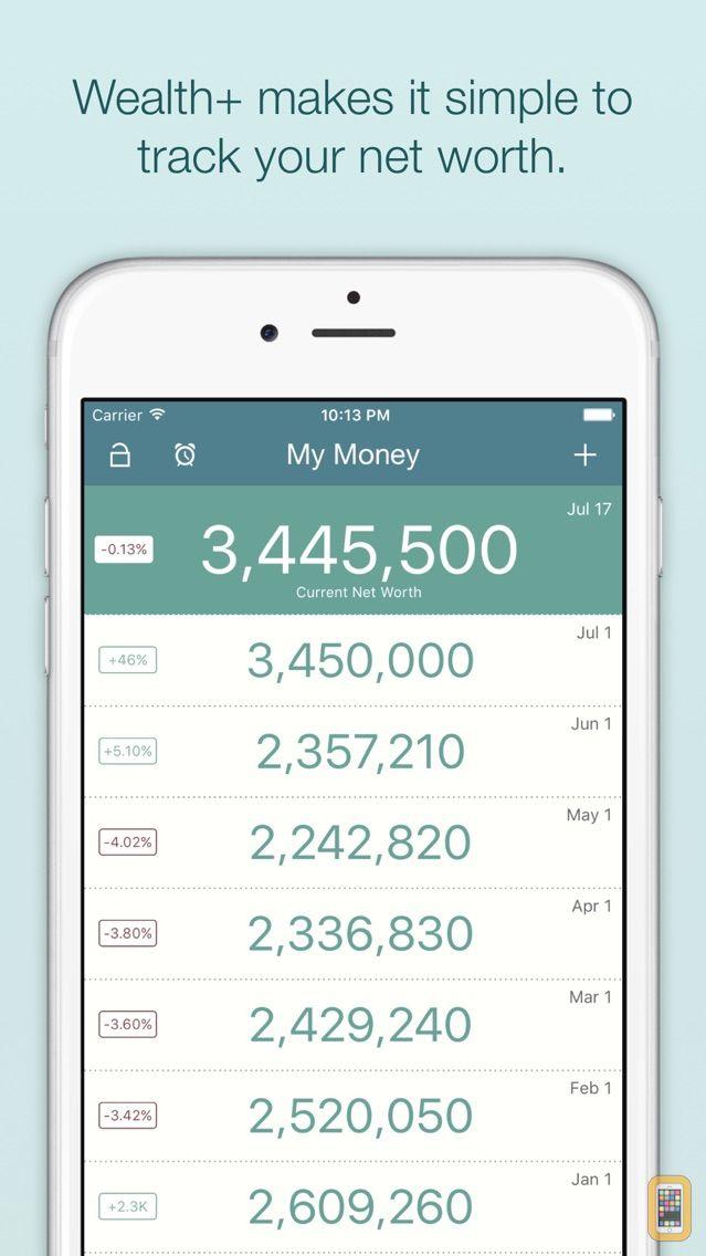 Screenshot - WealthPlus Net Worth