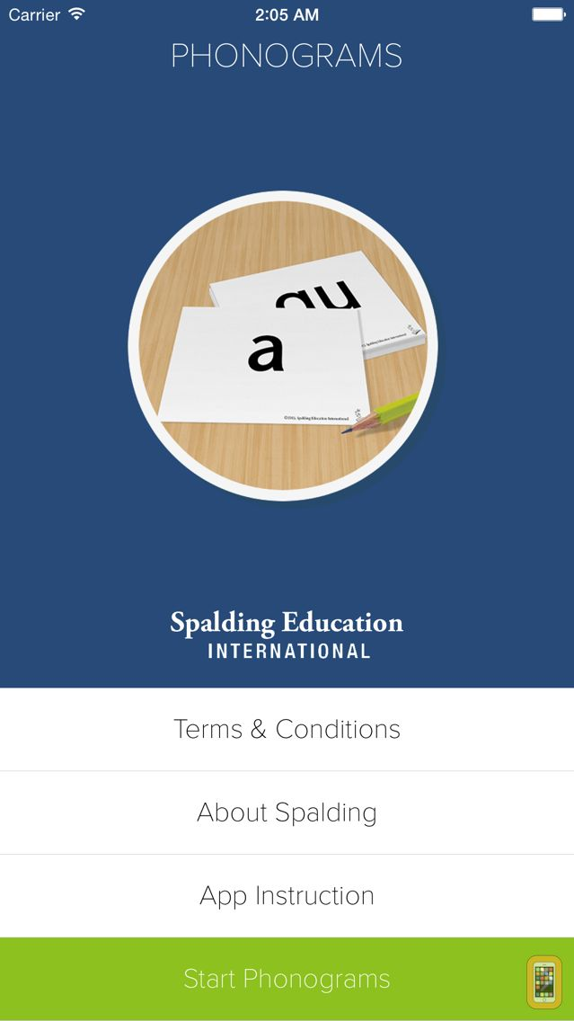 Screenshot - Phonograms by Spalding Education International
