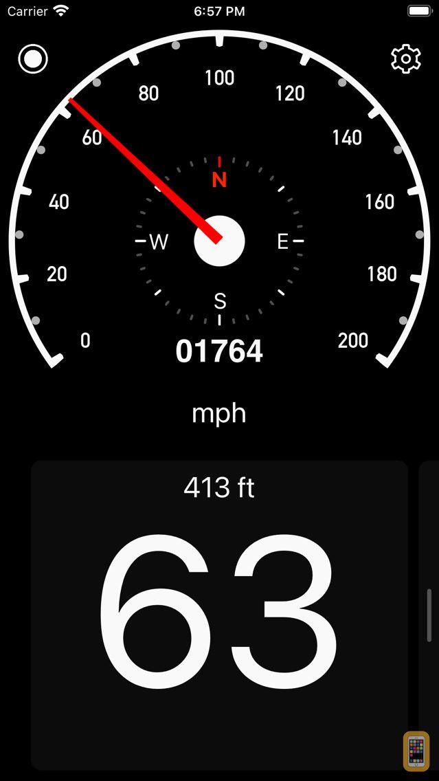 Screenshot - Speedometer Simple