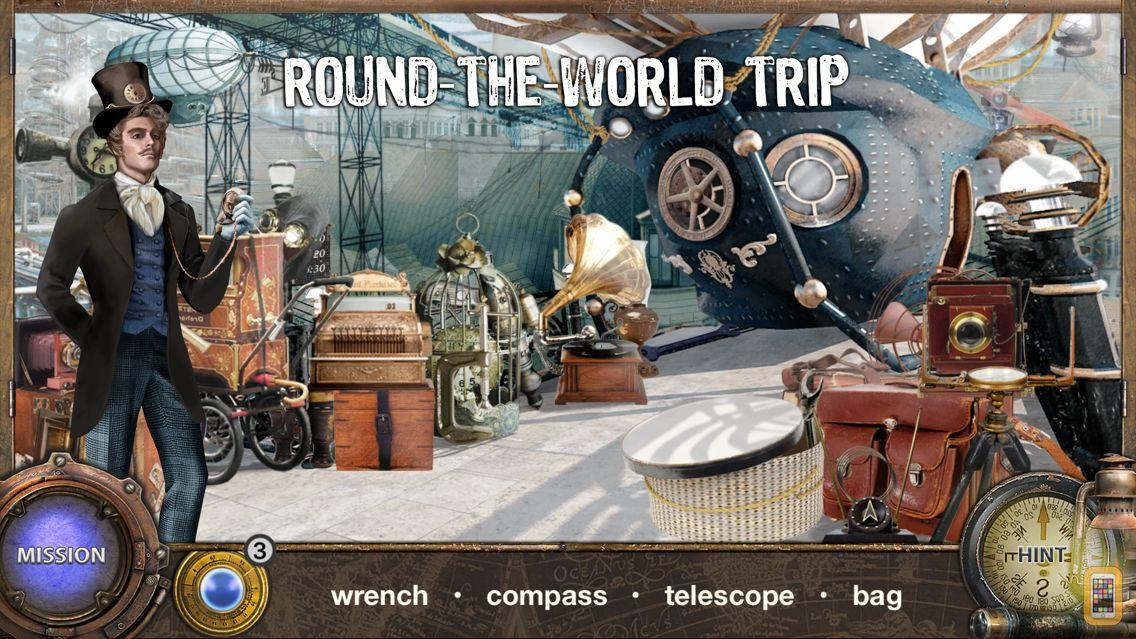 Screenshot - Around The World in 80 Days - Hidden Object Games