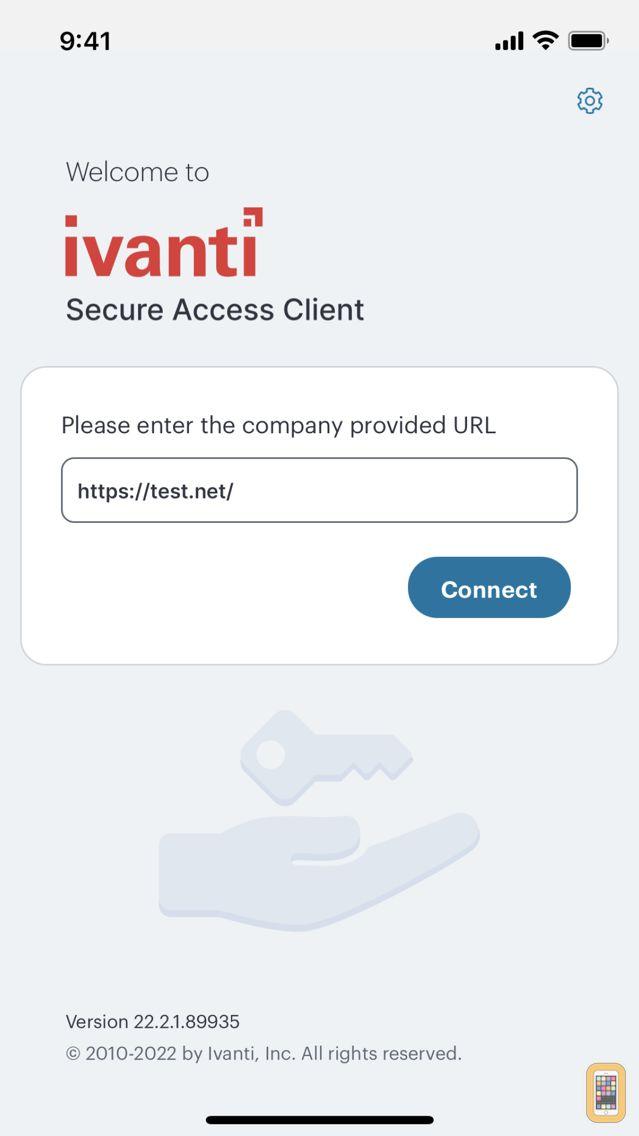 Screenshot - Pulse Secure