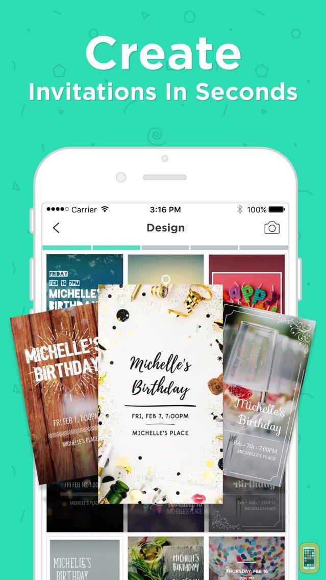 Screenshot - Invitation Maker by Hobnob