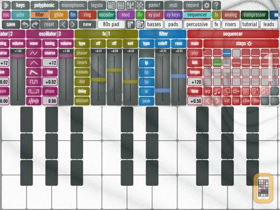 Screenshot - synthQ