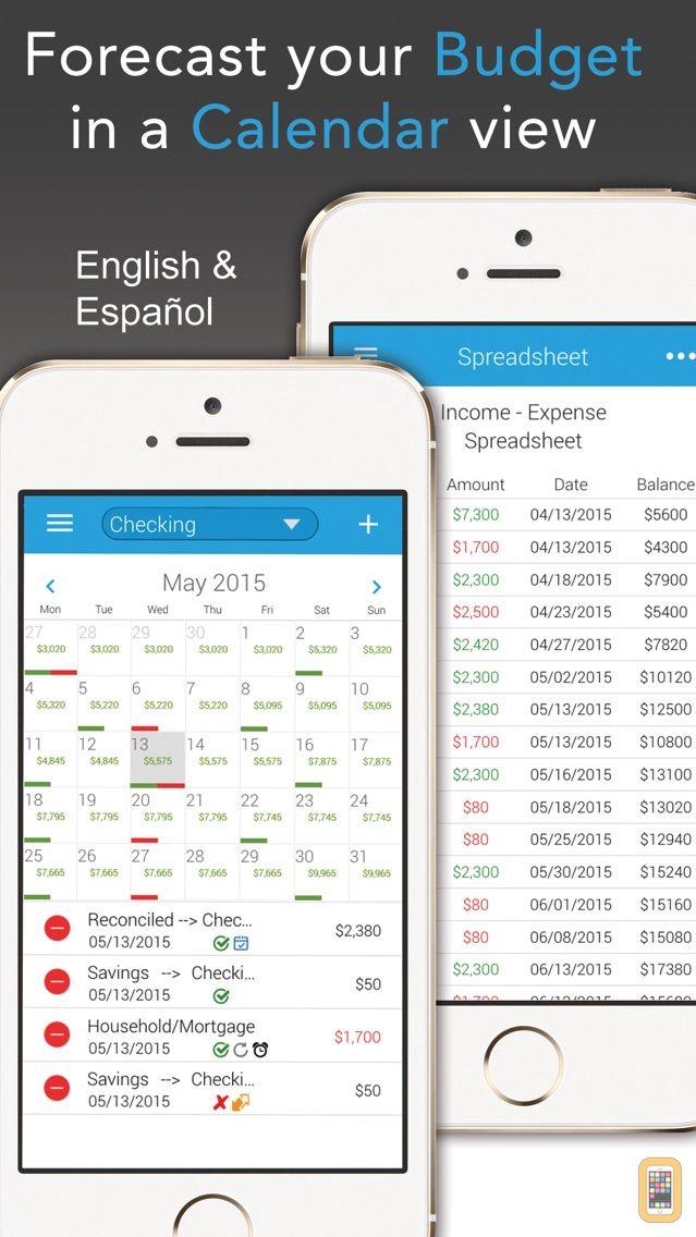 Screenshot - Budget Calendar
