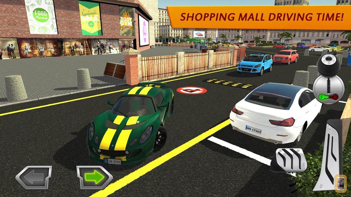Screenshot - Shopping Mall Car Driving