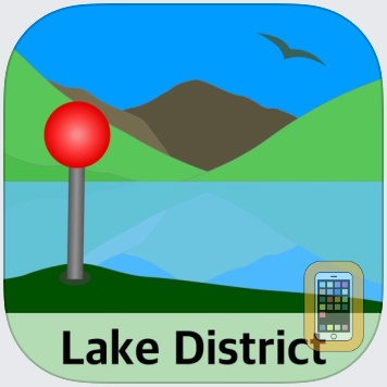 Lake District Maps Offline by JOMO Solutions Ltd (Universal)