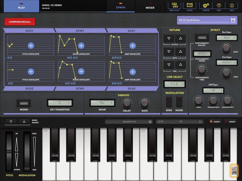 Screenshot - CZ App for iPad
