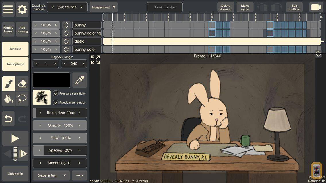 Screenshot - RoughAnimator - animation app
