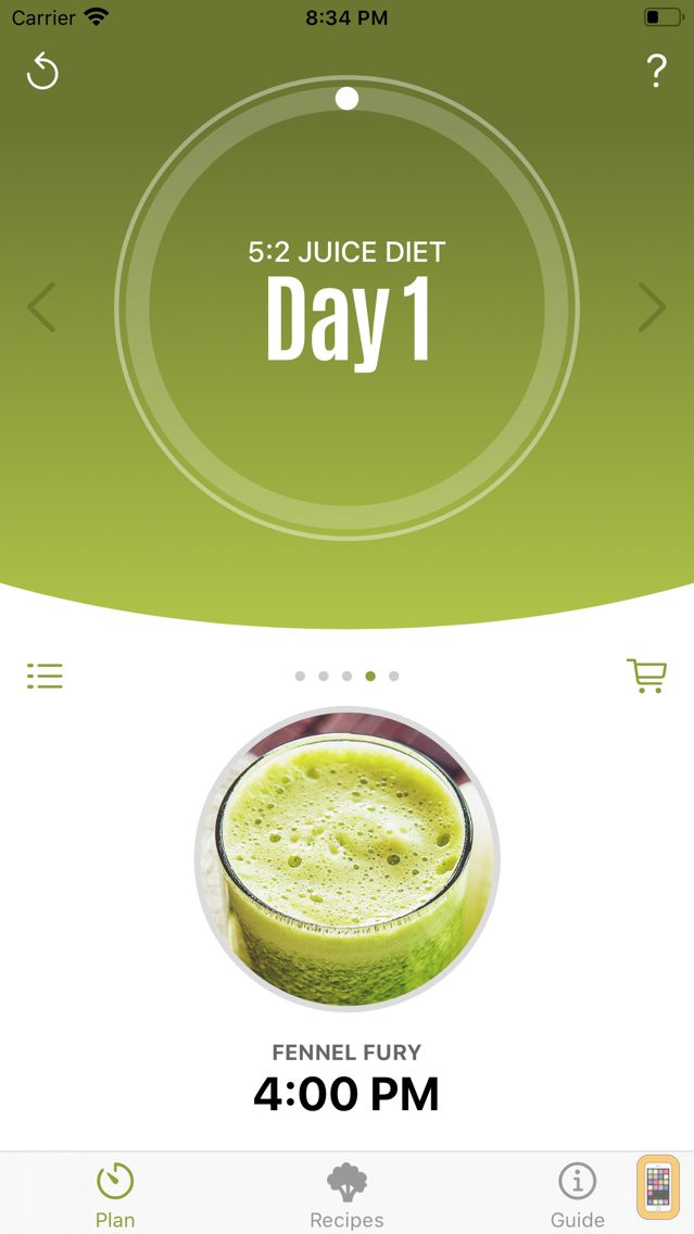 Screenshot - Jason Vale's 5:2 Juice Diet