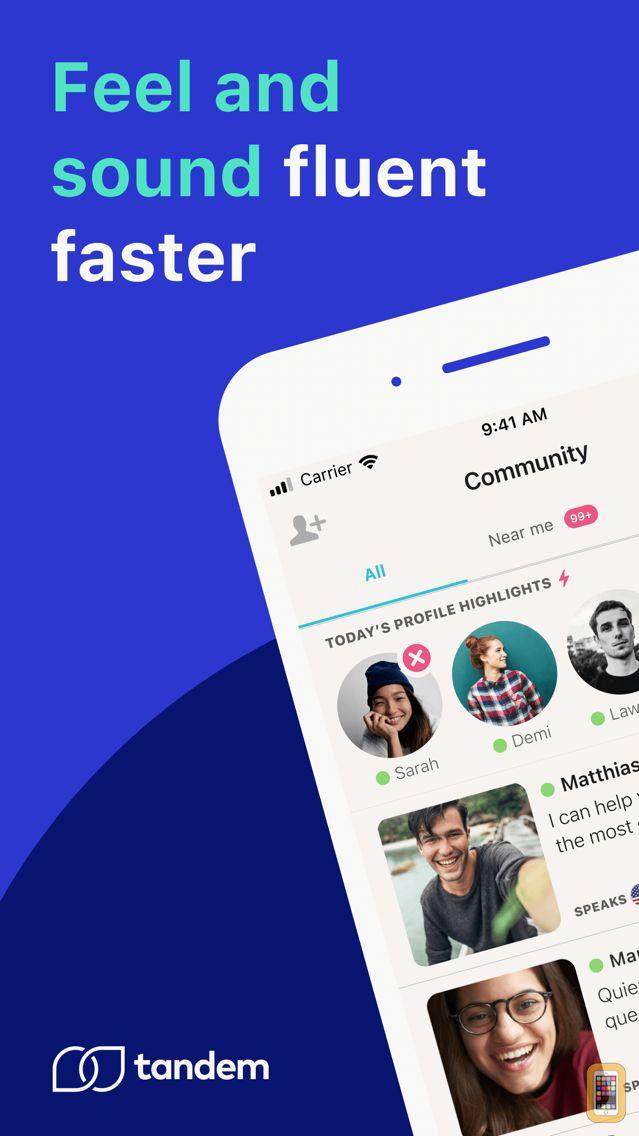 Screenshot - Tandem - Language Exchange