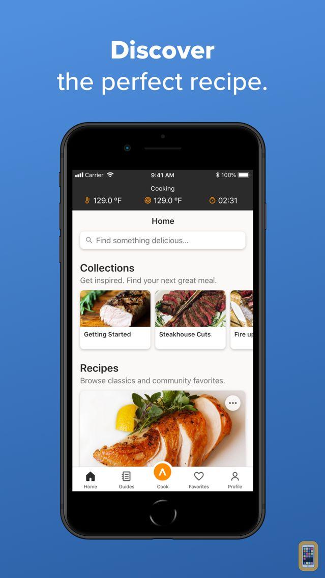 Screenshot - Anova Culinary