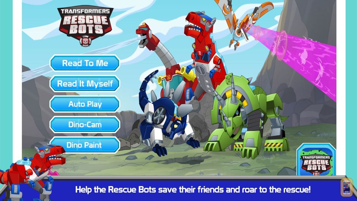 Screenshot - Transformers Rescue Bots: Dino