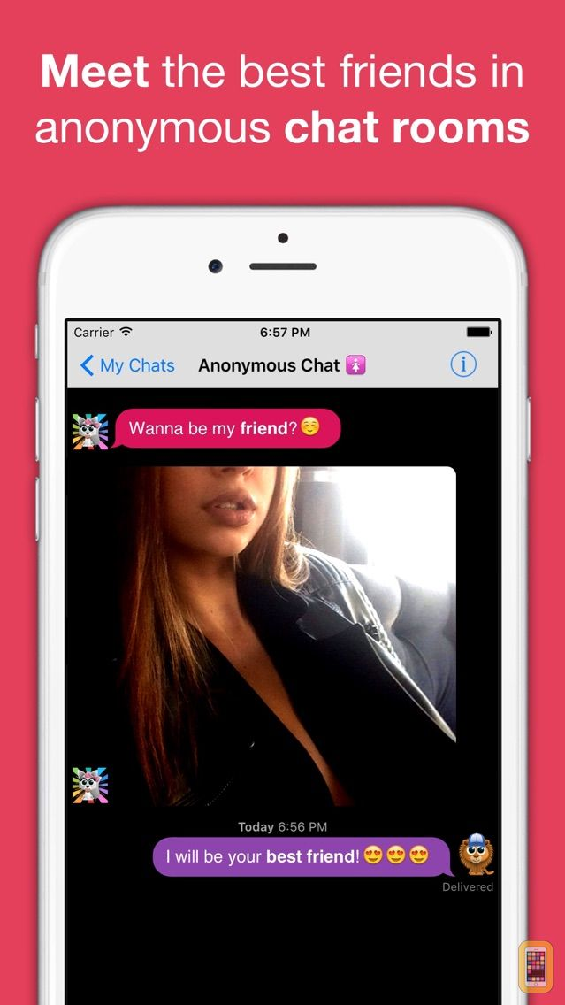 Anonymous chat rooms dating itunes