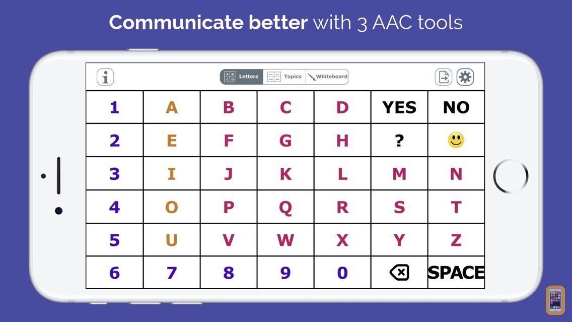 Screenshot - AlphaTopics - AAC