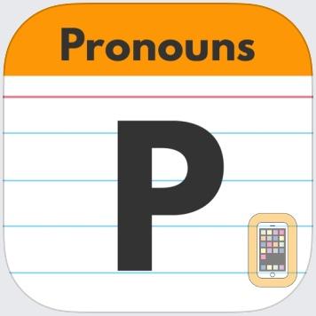 Pronouns by Teach Speech Apps by Teach Speech Apps, LLC (iPad)