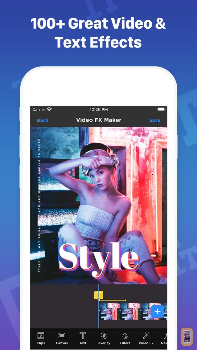 Screenshot - Video FX- Video Editer Effects