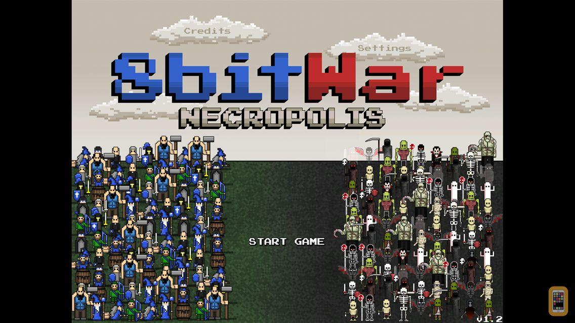 Screenshot - 8bitWar: Necropolis