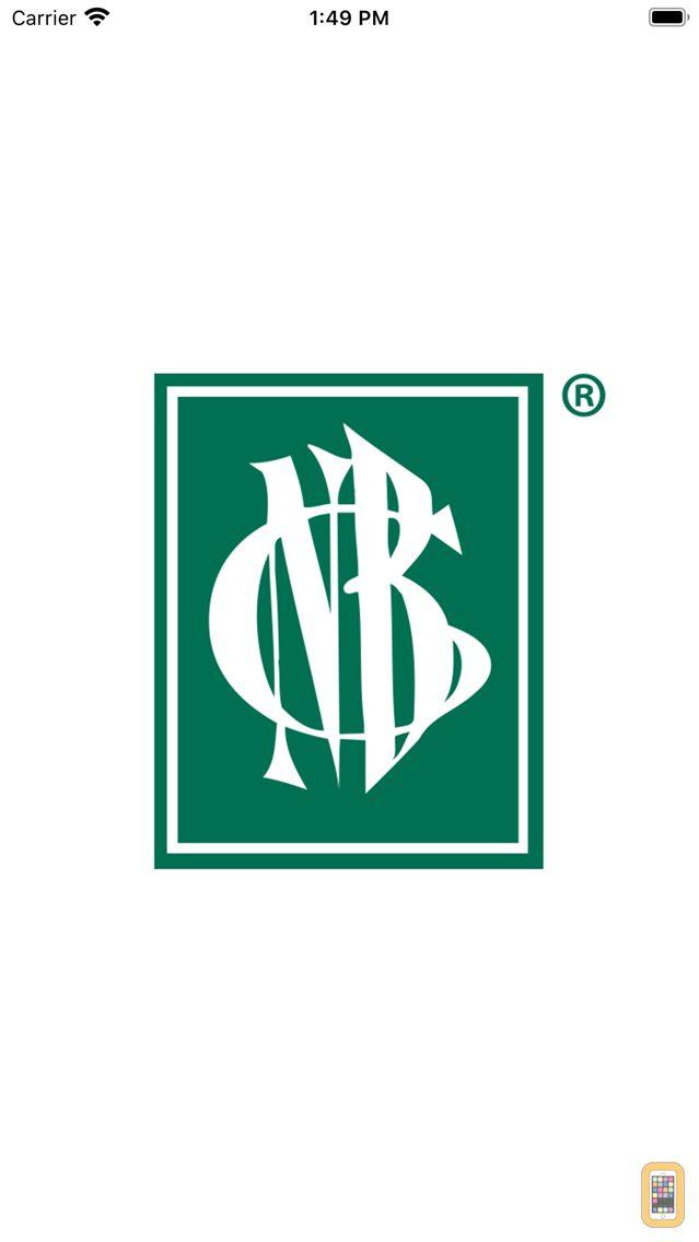 Screenshot - Citizens National Bank of Bluffton Mobile App