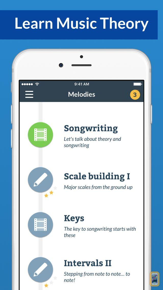 Screenshot - Waay: Learn music theory