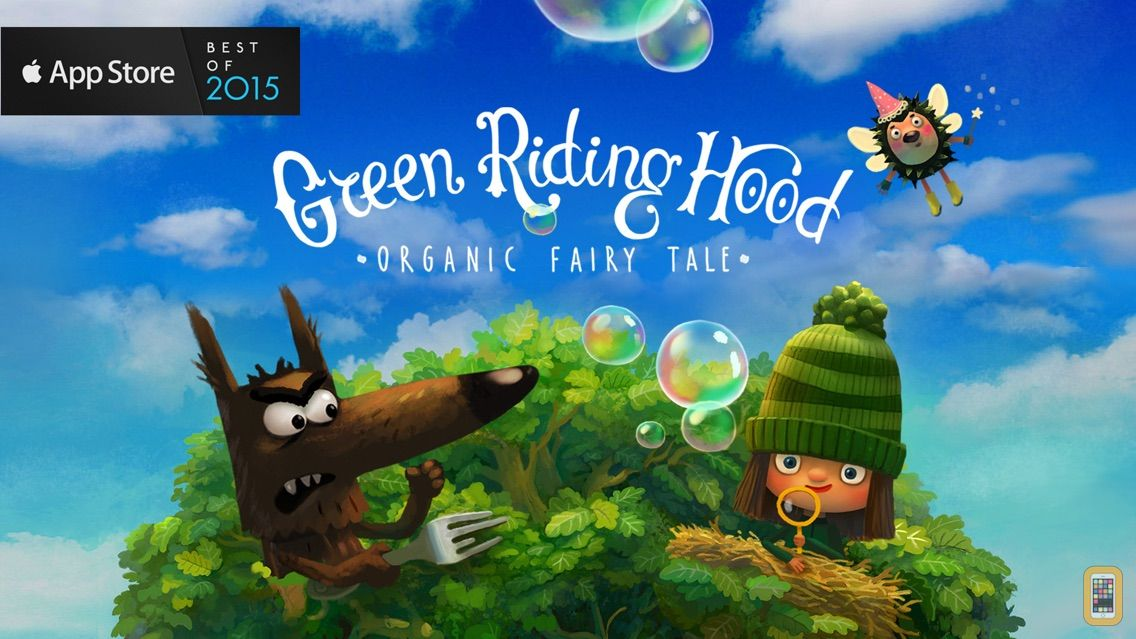 Screenshot - Green Riding Hood: Read Aloud