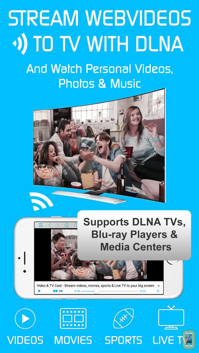 Screenshot - Video & TV Cast | DLNA UPnP HD