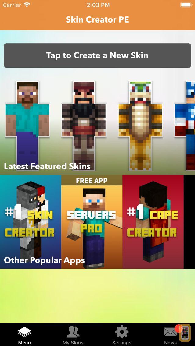 Screenshot - Skin Creator PE for Minecraft