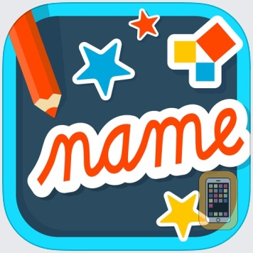 Name Play: a name reading and writing practice kit by EDOKI ACADEMY (Universal)