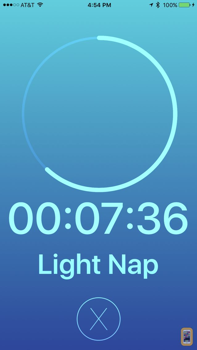 Screenshot - Power Nap with Health Sync