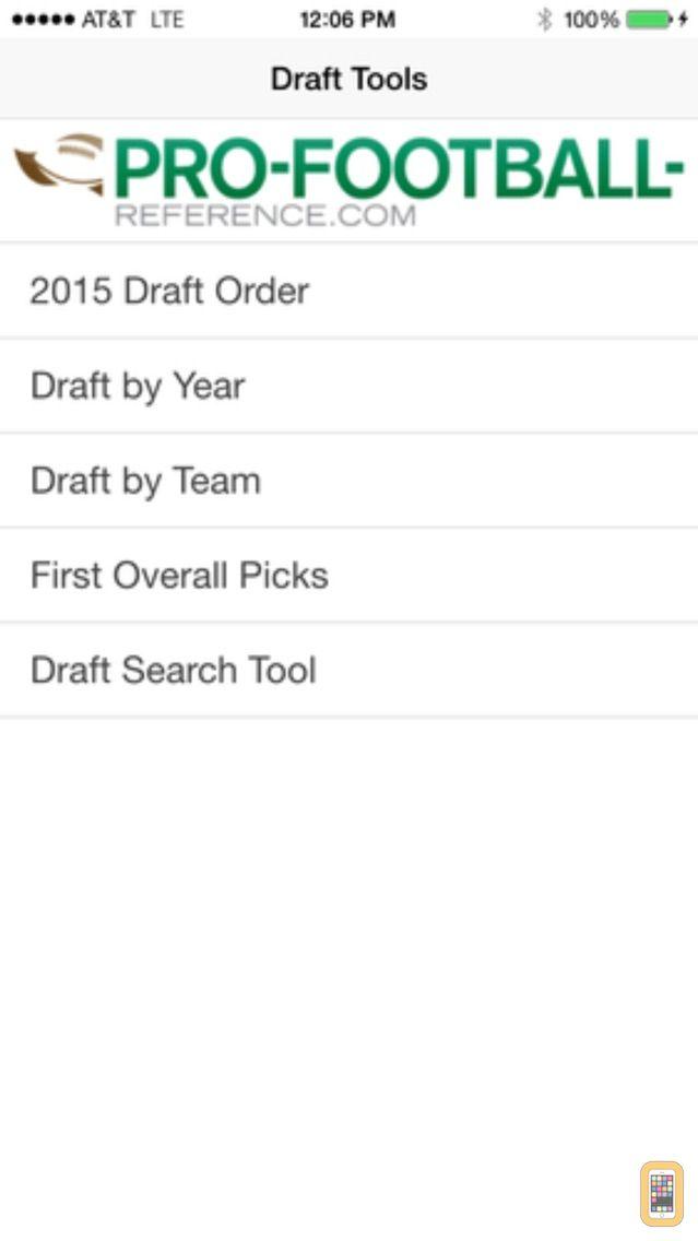 Screenshot - Pro Football Draft Machine