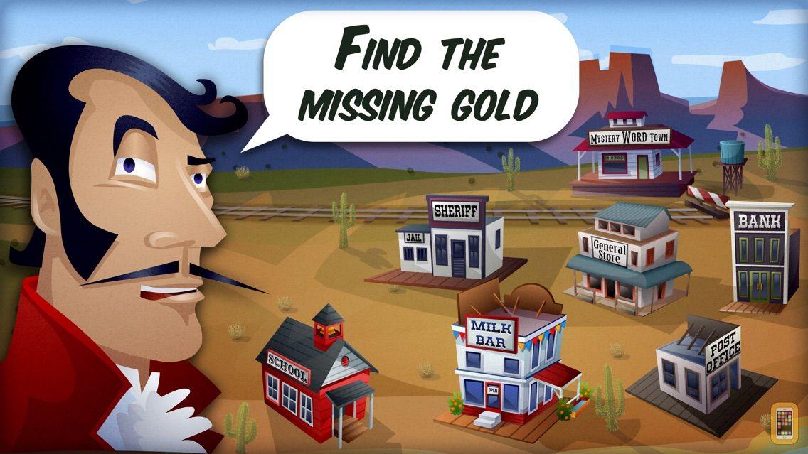Screenshot - Mystery Word Town Spelling