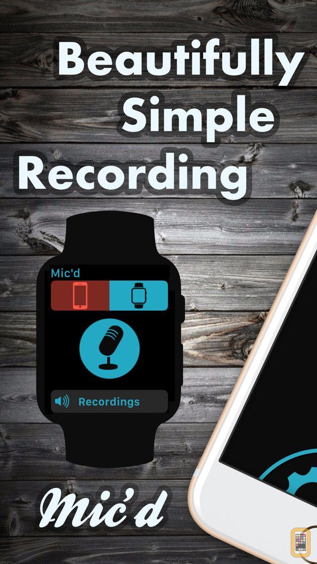 Screenshot - Mic'd -  Beautifully simple recording
