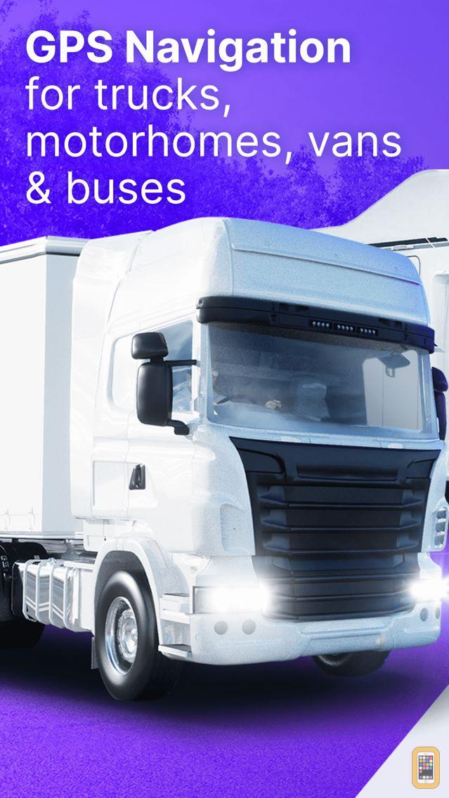 Screenshot - Sygic Truck GPS Navigation