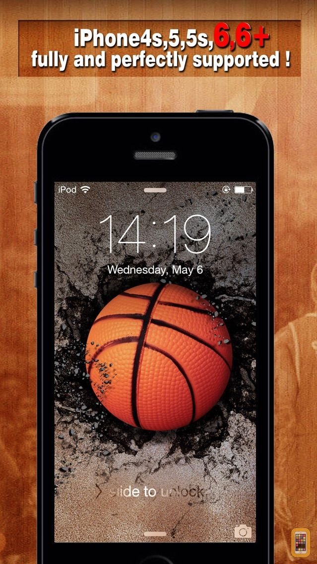 Screenshot - Basketball Backgrounds - Wallpapers & Screen Lock Maker for Balls and Players