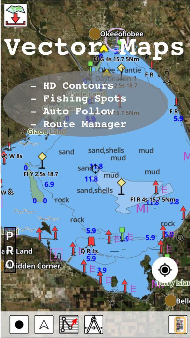 Screenshot - i-Boating: Marine Charts & Gps