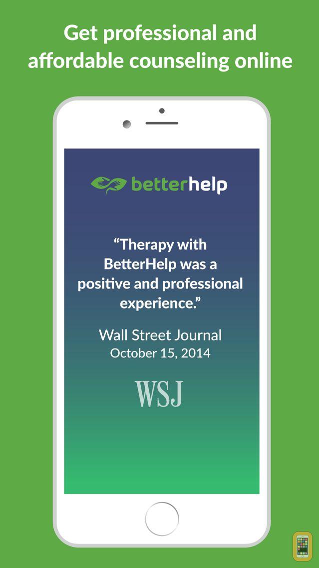 Screenshot - BetterHelp - Therapy