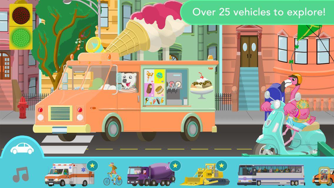 Screenshot - Big City Vehicles for Kids