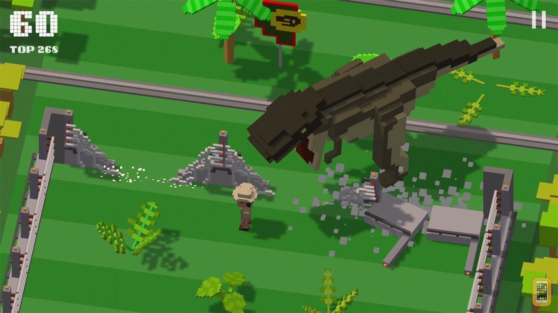 Screenshot - Jurassic Hopper